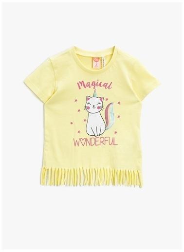Koton Koton T-Shirt Sarı